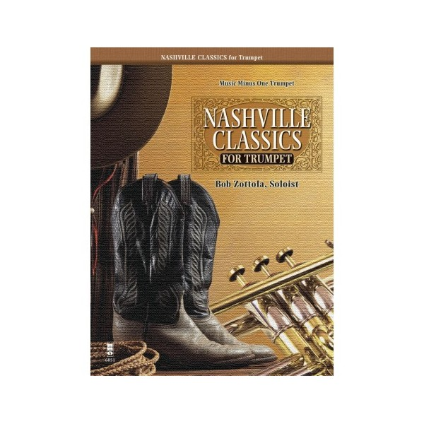 Nashville Classics for Trumpet - Play-along Edition - Music Minus One