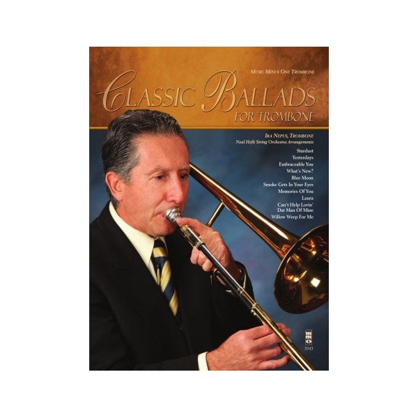 Classic Ballads for Trombone - Music Minus One Play-a-long Edition