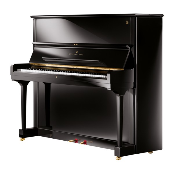 Steinway Model K (2013) in Black Polyester
