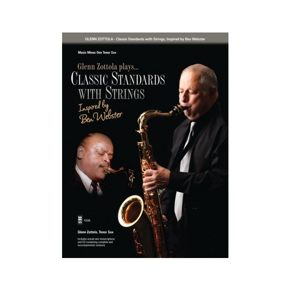 Classic Standards with Strings - Tenor Saxophone - Music Minus One Play-a-long Edition