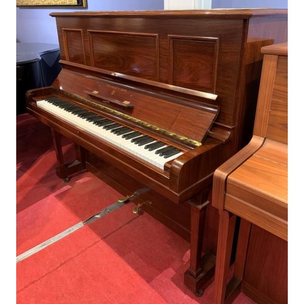 Steinway Model K Upright Piano Mahogany - c1932
