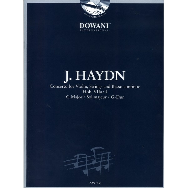 Haydn Concerto for Violin, Strings and Basso Continuo