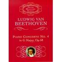 Beethoven: Piano Concerto No.4 In G Major Op.58 (Miniature Score) - Beethoven, Ludwig Van (Composer)