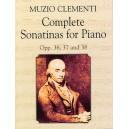 Clementi: Complete Sonatinas For Piano Opp. 36, 37,38 - Clémenti, Muzio (Artist)