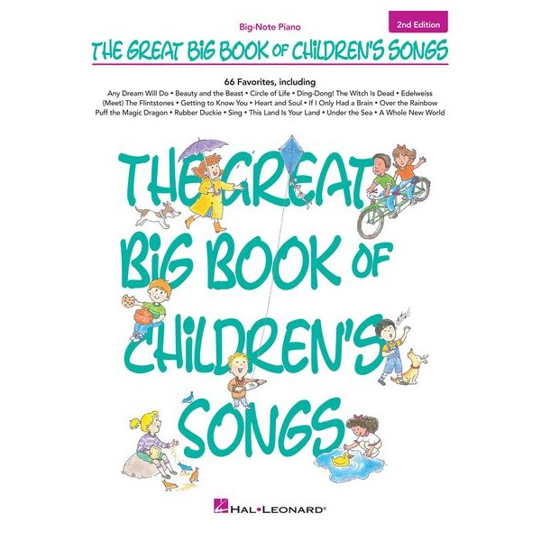 The Great Big Book Of Childrens Songs: 2nd Edition - Various Artists (Artist)