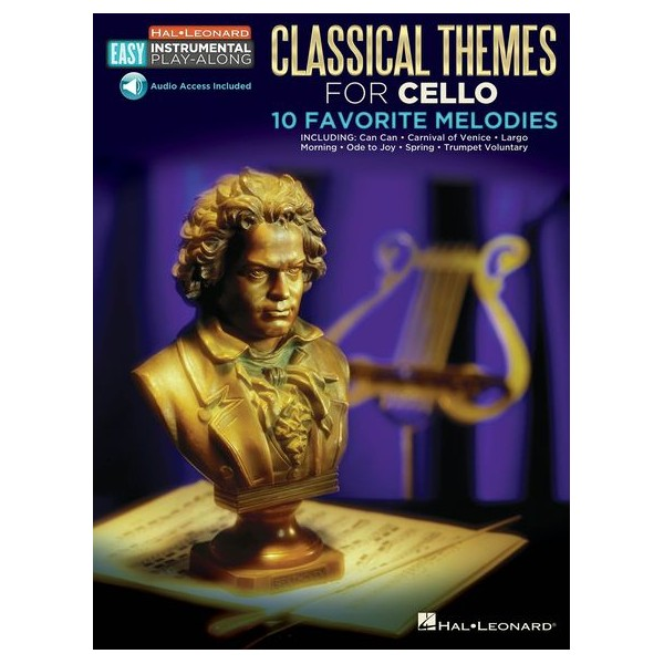 Cello Easy Instrumental Play-Along: Classical Themes -