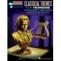 Trombone Easy Instrumental Play-Along: Classical Themes -