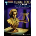 Horn Easy Instrumental Play-Along: Classical Themes -