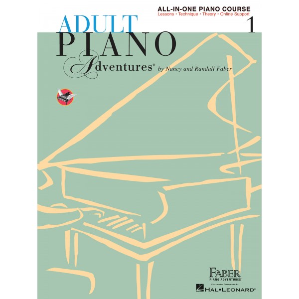 Faber Piano Adventures: Adult Piano Adventures All-in-One - Lesson Book 1 - Faber, Nancy (Author)