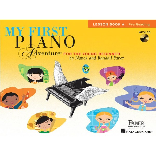 Faber Piano Adventures: My First Piano Adventure - Lesson Book A/CD - Faber, Nancy (Author)