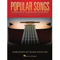 Popular Songs For Easy Classical Guitar -  Phillips, Mark (Arranger)