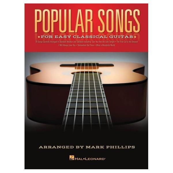 Popular Songs For Easy Classical Guitar -  Phillips, Mark (Arranger)