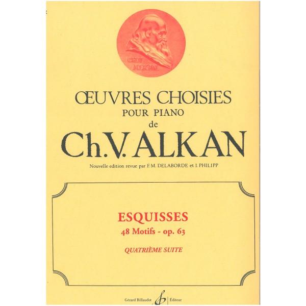 Alkan, Charles V - Esquisses, Suite 4