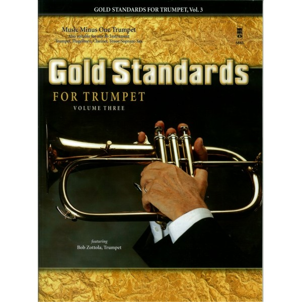 Gold Standards for Trumpet, Vol.3 - Music Minus One - Play-a-long Edition