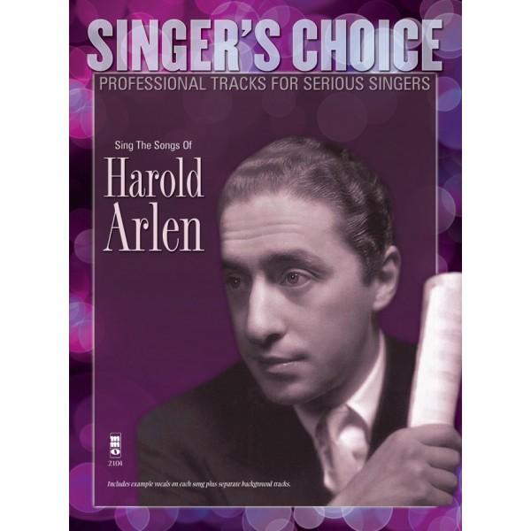 Sing the Songs of Harold Arlen - Music Minus One - Backing Track CD + Sheet Music