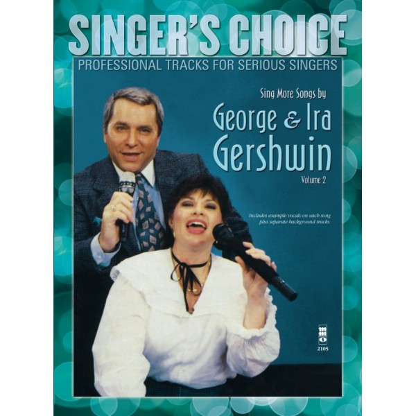 Sing More Songs by George & Ira Gerswin, Vol. 2 - Music Minus One - Backing Track CD + Sheet Music