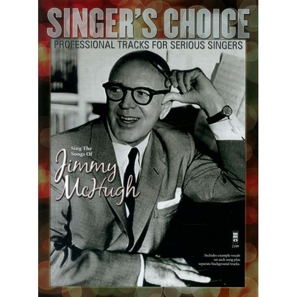 Sing the Songs of Jimmy McHugh - Music Minus One - Backing Track CD + Sheet Music