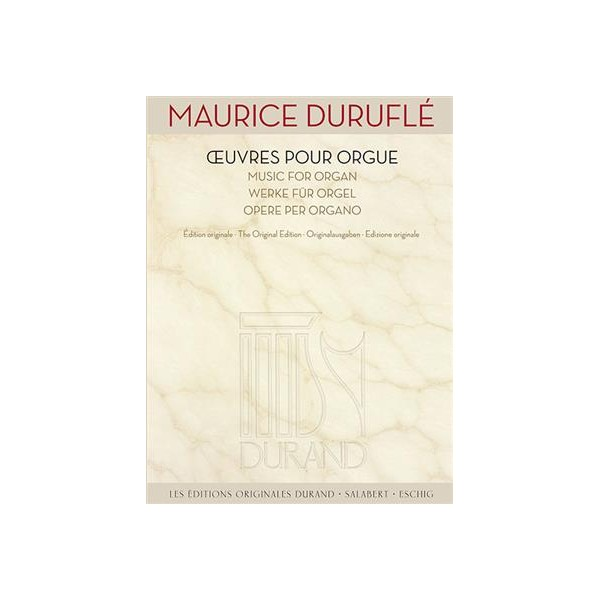 Durufle, Maurice - Oeuvres pour Orgue