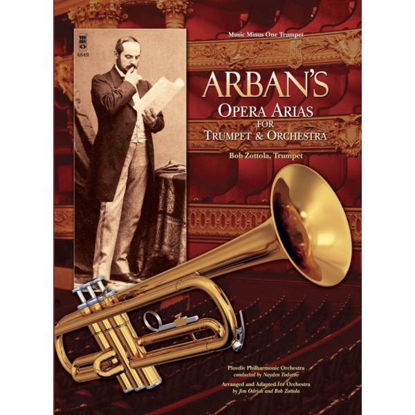 Arban's Opera Arias for Trumpet and Orchestra - Music Minus One - Play-a-long edition