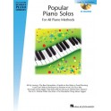 Hal Leonard Student Piano Library: Popular Piano Solos - Level 1 (Book/CD) - Various Composers (Composer)