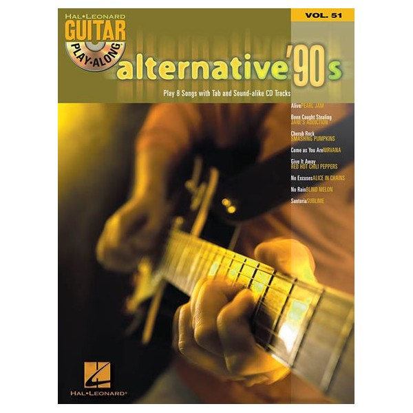 Guitar Play Along Volume 51: Alternative 90s - Various Artists (Artist)