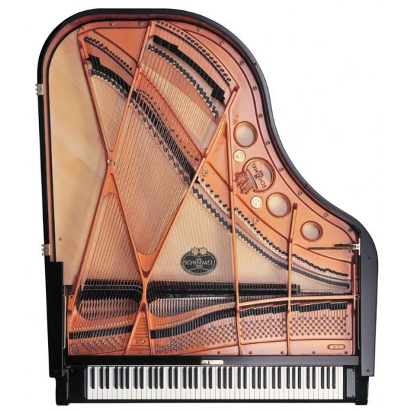 Schimmel Classic C189T Grand Piano Black Polyester