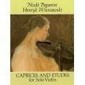 Paganini/Wieniawski: Caprices And Etudes For Violin - Wieniawski, Henryk (Artist)