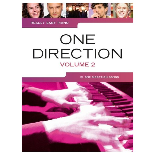 Really Easy Piano: One Direction - Volume 2 - One Direction (Artist)
