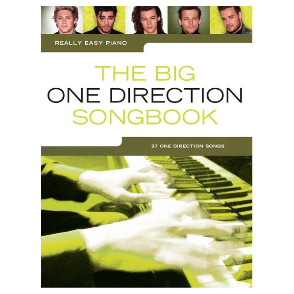 Really Easy Piano: The Big One Direction Songbook - One Direction (Artist)