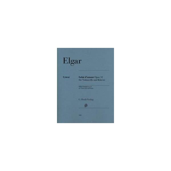 Elgar, Edward - Salut d'amour for Cello