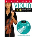 Playalong Violin: Film Tunes (Book And CD) - 0