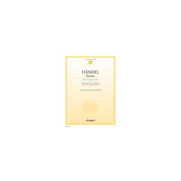 Handel, G F - Violin Sonata in F major
