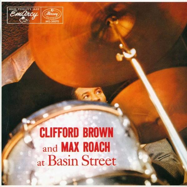 Clifford Brown and Max Roach at Basin Street - VINYL