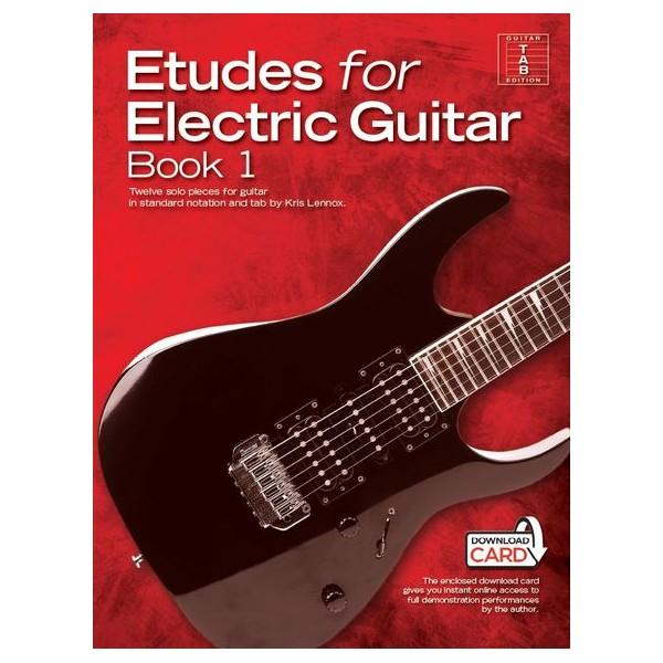 Kris Lennox: Etudes For Electric Guitar (Book/Download Card) - Lennox, Kris (Composer)