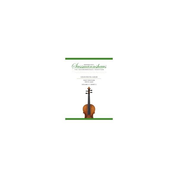 Sassmannshaus - Violin Recital Album Volume Two