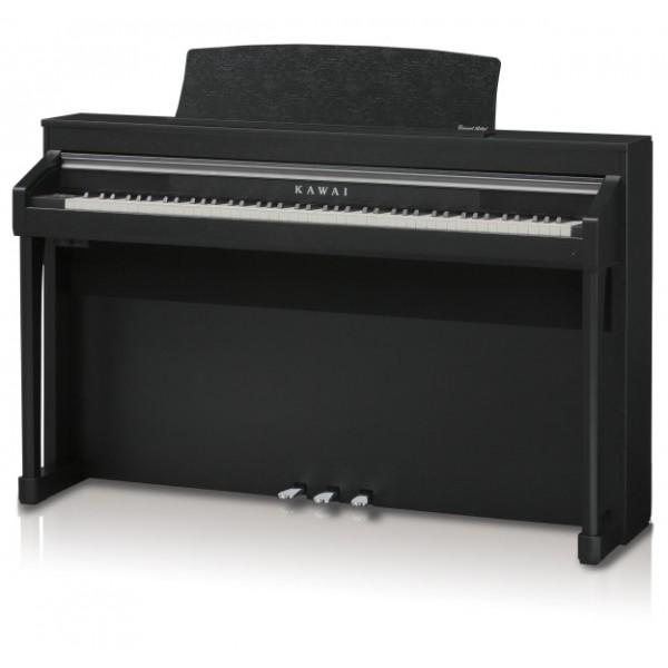 Kawai CA97 satin black hire piano