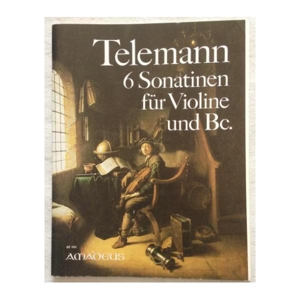 Telemann, G P - Six Sonatinas
