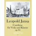 Jansa, Leopold - Cantilène op. 84