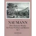 Naumann, Ernst - Three Fantasy Pieces op. 5