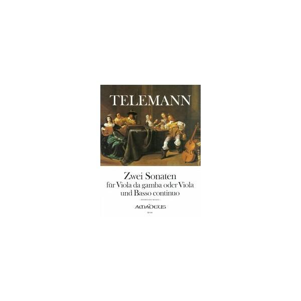 Telemann, G P - Two Sonatas for Viola da Gamba or Viola