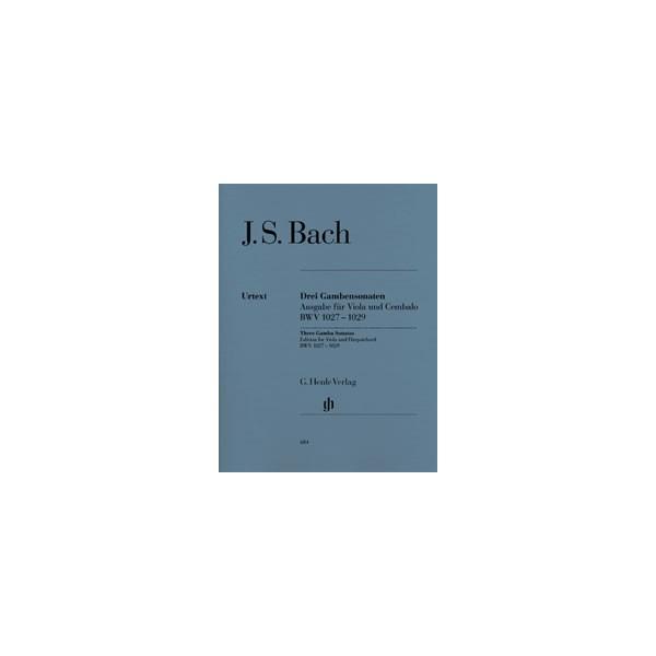 Bach, J S - Three Sonatas for Viola (da Gamba) & Harpsichord