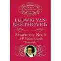 Beethoven: Symphony No.6 In F Major Op.68 Pastorale (Miniature Score) - Beethoven, Ludwig van (Composer)