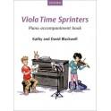 Viola Time Sprinters (Piano Accompaniments)