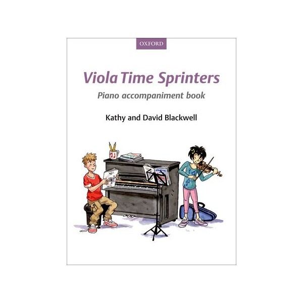 Viola Time Sprinters (Piano Accompaniments)