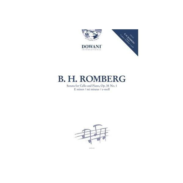 Romberg, Bernhard H - E minor Cello Sonata Op38 Nº1