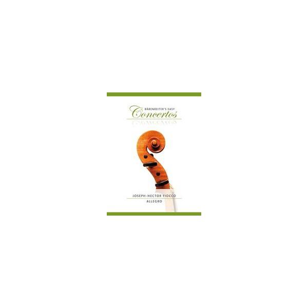 Allegro in G major Violin and Piano - Joseph-Hector Fiocco
