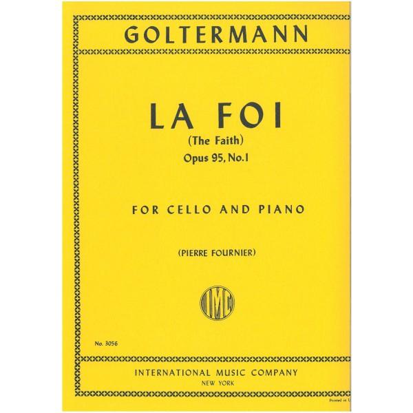 Goltermann, Georg - La Foi (Cello) Op95 Nº1