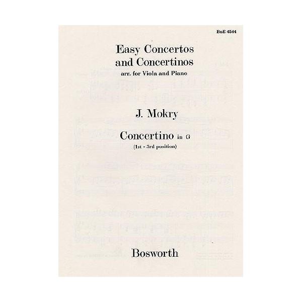 Jiri Mokry: Concertino in G (Viola/Piano) - Mokry, Jiri (Artist)