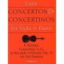 Kuchler, Ferdinand - Concertino in G Op.15 (Viola/Piano)