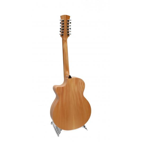 Faith Venus Naked FKV cutaway electro acoustic 12-string guitar